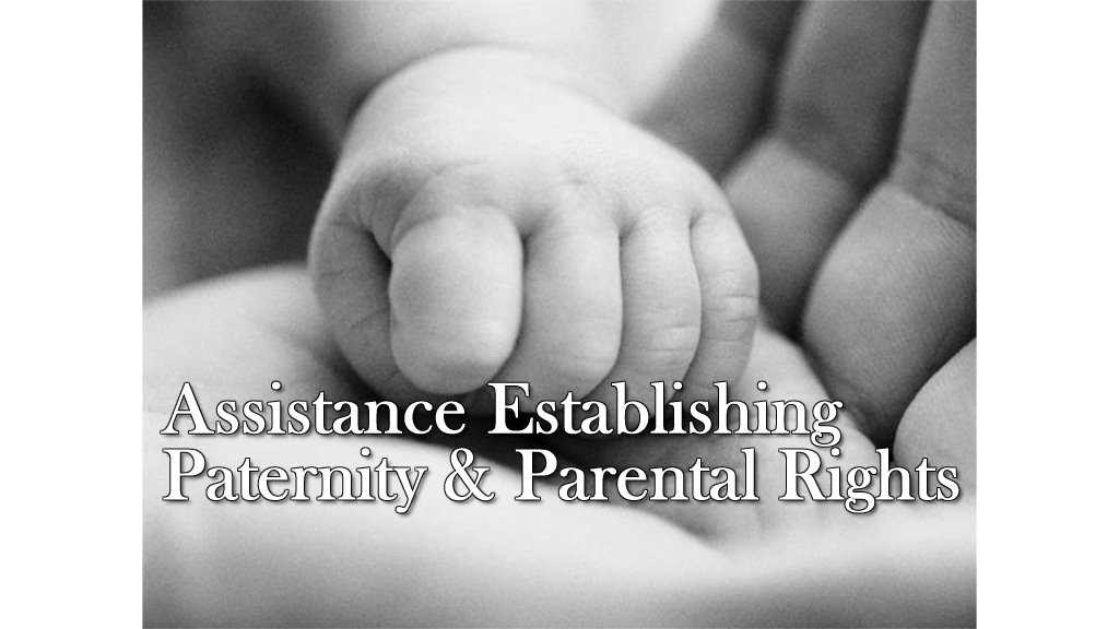 Programs for establishing & protecting parent's rights.
